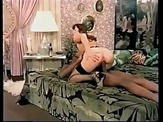 Interracial Threesome on Set
