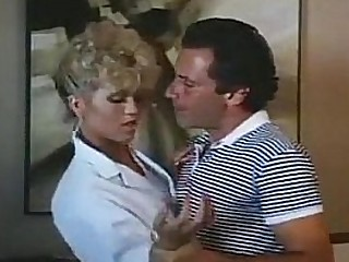 Amber Lynn, John Leslie in amazing retro sex video with John Leslie