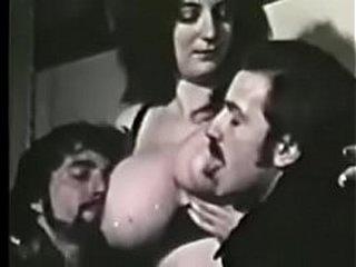 Vintage Big Tits Threesome