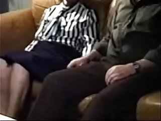 Loads of cum in Grannys mouth