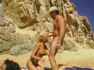 Retro Stacy Valentine Pornstar Bikini Beach #5 1996