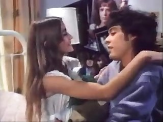 Petite Retro Teen Sucks Cock and Gets Fucked in the Ass