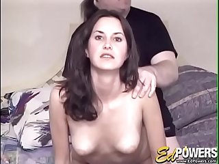 EDPOWERS  Beautiful Ashley Love auditions with big cock