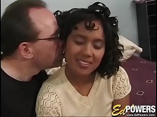 EDPOWERS  Ebony Tami Kahn pounded in big cock casting
