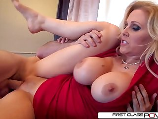 Julia'_s husband loves watching her getting pounded by other men