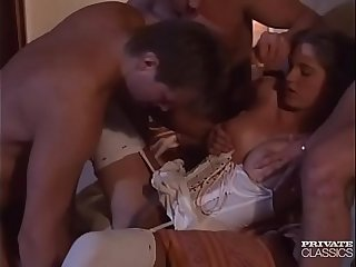 Roxanne Hall, Three Cocks Better Than one...